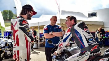 News: Keanu Reeves'pilota' in pista al Mugello