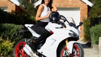 News: Lauren Vickers brand ambassador per Ducati Australia