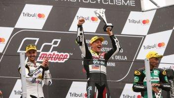 Moto2: Aegerter squalificato dal GP di Misano, vittoria a Luthi