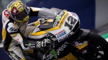 Moto2: FP2: Luthi primo con caduta, 4° Morbidelli