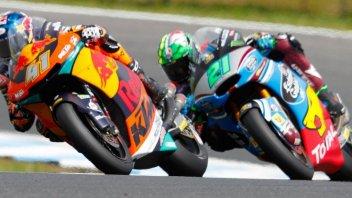 Moto2: WUP: Binder beffa Morbidelli a Sepang