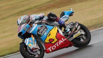 Moto2: FP2: Solo Marquez meglio di Baldassarri, 6° Morbidelli