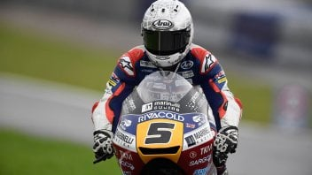 Moto3: FP2: tris tricolore a Motegi, 1° Fenati, 2° Antonelli, 3° Bulega