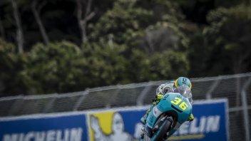 Moto3: FP3: Mir ancora al comando, 3° Di Giannantonio