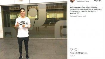 MotoGP: Aleix Espargarò operato, correrà a Valencia