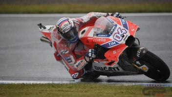 MotoGP: Dovizioso: we defeated the unknown wet factor
