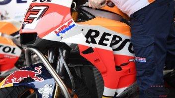 MotoGP: Honda apre le finestre sulla carena di Marquez
