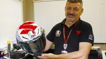 MotoGP: Iannone dedicated his helmet to Suzuki