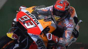 MotoGP: WUP: Marquez detta il passo sul bagnato, 6° Dovi