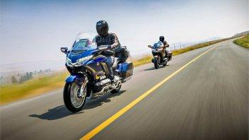 News Prodotto: Honda GL1800 Gold Wing 2018: quando il lusso è piacere di guida