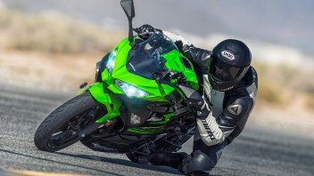 News Prodotto: Kawasaki Ninja 400: sportiva senza paura