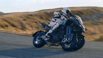 News Prodotto: Yamaha Niken: la rivoluzione è arrivata