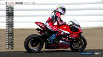 SBK: Jerez: vince Rea, ma che sfortuna Melandri