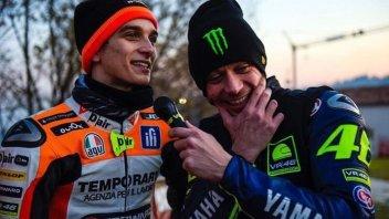 News: Monza Rally, che sfida tra Luca Marini e Valentino Rossi