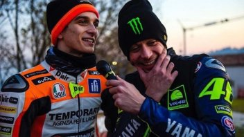 News: Monza Rally, che sfida tra Luca Marini e Valentino Rossi