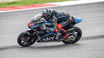 Moto2: FP2: solo Oliveira meglio di Bagnaia a Valencia, 4° Pasini