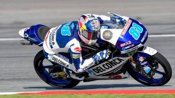Moto3: Martin si prende l'ultimo warmup dell'anno, 3° Di Giannantonio
