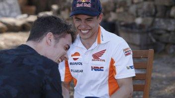 MotoGP: Marquez VS Pedrosa: sfida a colpi di risate