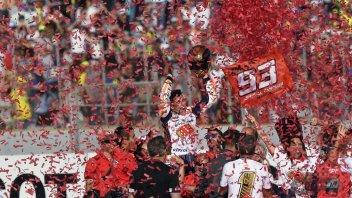MotoGP: FOTO. Marquez, le 6 facce del campione