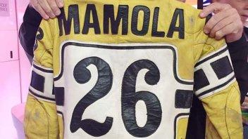MotoGP: Randy Mamola ritrova la tuta della 200 miglia di Imola...mai corsa