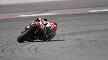 MotoGP: Crashing pole for Marquez, Dovizioso on third row