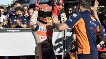 """MotoGP: Marquez: """"Tomorrow I'll race with four eyes"""""""