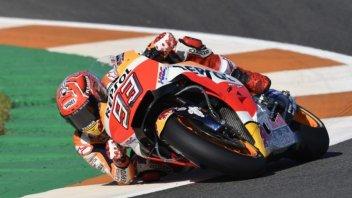 MotoGP: Marquez non fa sconti, suo anche il warmup, 4° Dovizioso