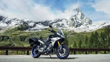 News Prodotto: EICMA 2017 - Yamaha Tracer 900 GT my 2018: il mototurismo si fa più completo