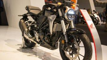 News Prodotto: Eicma, Honda CB300R e 125: piccole con grande personalità