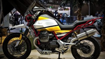 News Prodotto: Moto Guzzi V85: meno di un anno per la Classic Enduro