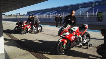 SBK: Kawasaki, BMW, MV and Aprilia open 2018 at Jerez