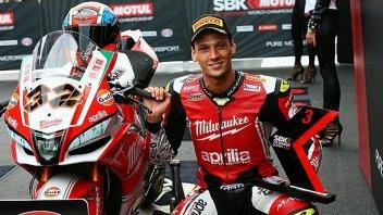 SBK: Savadori: In Aprilia per ottenere posizioni importanti e... la MotoGP