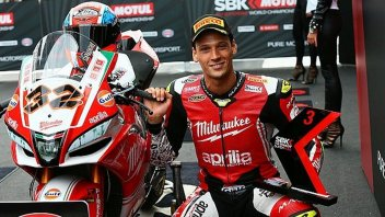 SBK: Savadori: In Aprilia to obtain significant results and... the MotoGP