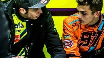 """Moto2: Marini: """"Che paura essere sul sedile destro con Vale alla guida"""""""