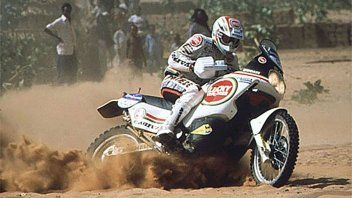 Dakar: Pernat and the disqualification of the Cagiva at the Paris Dakar
