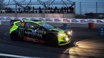 MotoGP: Rossi attacca e prende il comando del Monza Rally