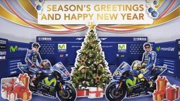 MotoGP: Un box pieno di regali per Rossi e Vinales