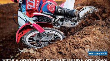 News Prodotto: Demoride Honda CRF 2018 Centro e Sud Italia