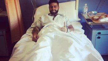 SBK: Operazione riuscita alla gamba per Riccardo Russo