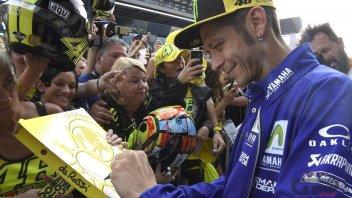 MotoGP: Rossi: Dovizioso e Lorenzo gli uomini da battere