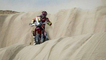 Dakar: Tegola anche in casa Honda: si ritira Joan Barreda