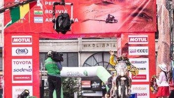 Dakar: Maurizio Gerini torna a far brillare il tricolore in Sudamerica