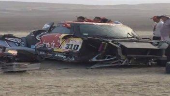 Dakar: Bryce Menzies: ecco come ha ridotto il suo Buggy X RAID