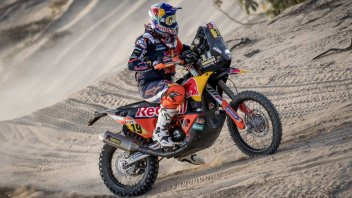 Dakar: Meo does the double, Van Beveren holds on to the lead, Botturi 23rd