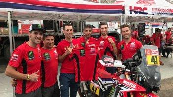 """Dakar: Vincenzo Nibali si """"allena"""" con i piloti al RAID"""