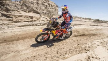 Dakar: First win for Price, but Walkner retains the lead
