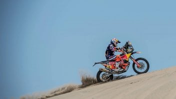 Dakar: Sunderland takes the lead in the first stage, Botturi 35th