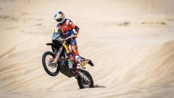 Dakar: Sunderland regains the lead, Barreda's Honda sinks