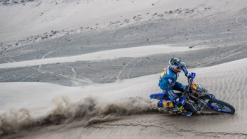 Dakar: First Yamaha high note with Van Beveren, Botturi 20th