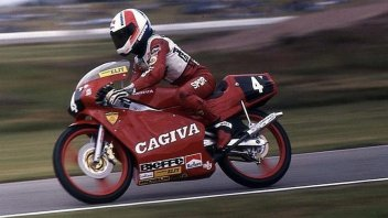Moto3: Pernat recalls: when the Cagiva 125 ended up in the Lake of Varese